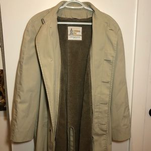 London Fog Men's Vintage Trench Coat